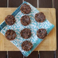 Cacao crunch cookies recipe
